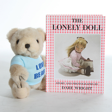 Little Bear with Lonely Doll Book