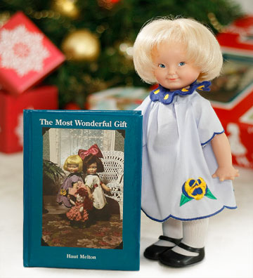 Ernastine Doll and Book Set