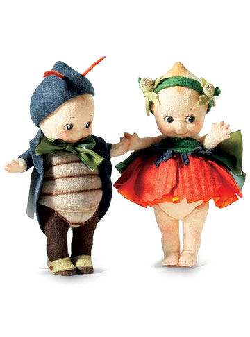 Peeper and Poppy Kewpie Set