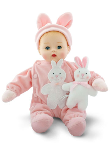 Pink Bunny My First Huggums 28960