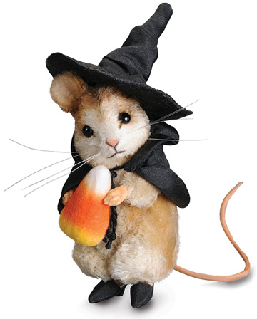 Trick or Treat Mouse by R. John Wright