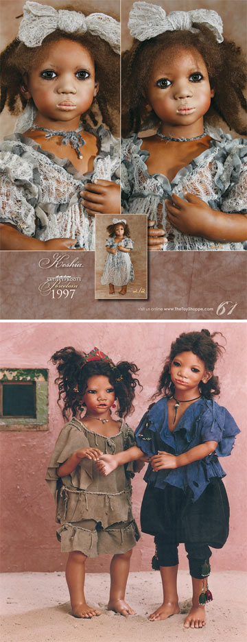Annette Himstedt Porcelain Artist's Proof Catalog by Annette Himstedt