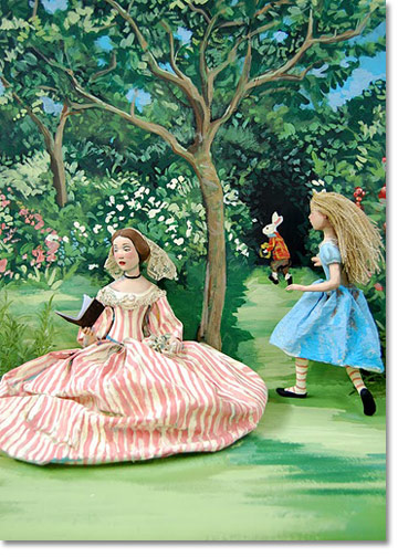 Alice In The Garden Card Set