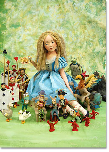 Alice And Friends Card Set