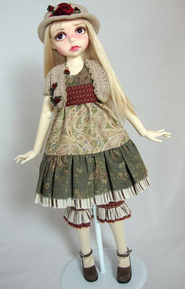Warm and Fuzzy Outfit For SD BJDs