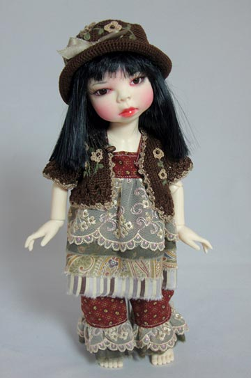 Warm and Fuzzy Outfit For Yo-SD BJDs