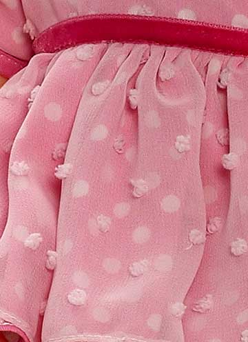 Pink Polkadot Huggable Huggums 61940 by Madame Alexander