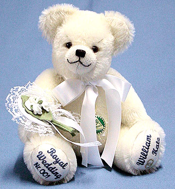 The Royal Wedding Bear Small 13202-6