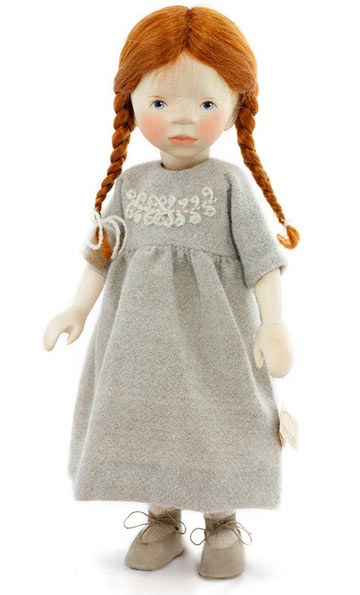 Girl In Wool Dress H310 by Elisabeth Pongratz