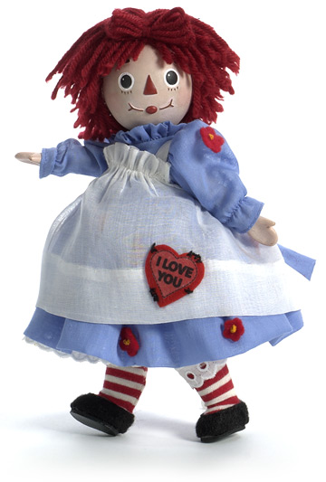 I Love You, Raggedy Ann Porcelain 64255
