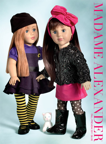 2011 Fall Madame Alexander Catalog