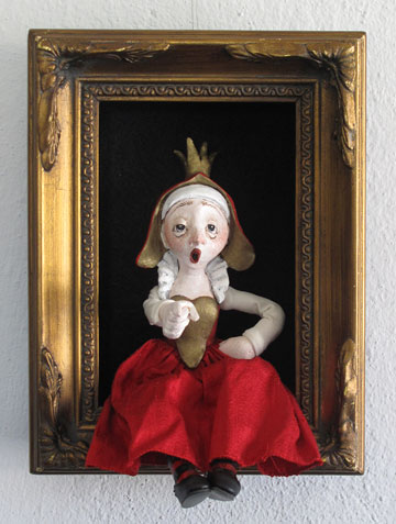 Queen Of Hearts Shadowbox