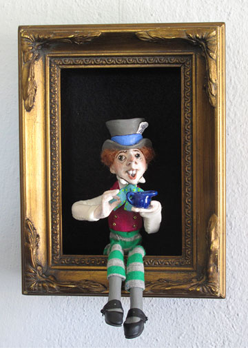 Mad Hatter Shadowbox