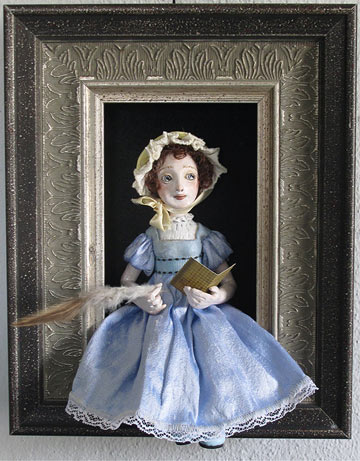 Jane Austen Shadowbox
