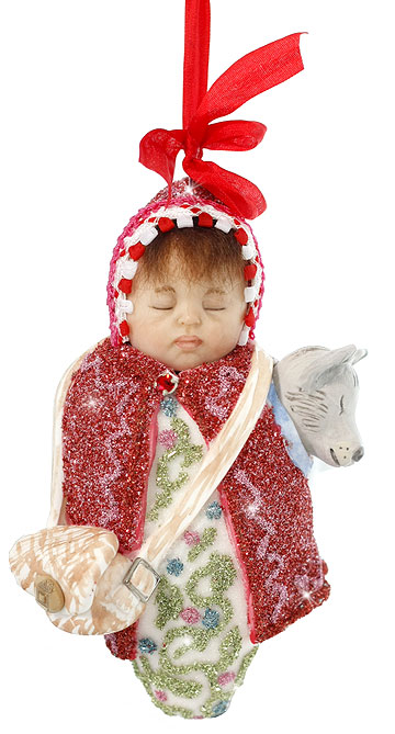 Little Red Riding Hood Baby Ornament