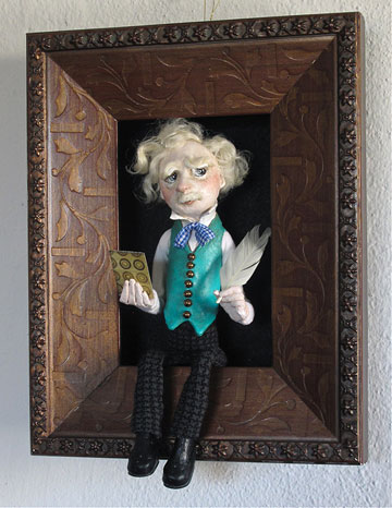 Mark Twain Shadowbox