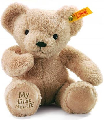 My First Steiff Teddy, Beige EAN 664120