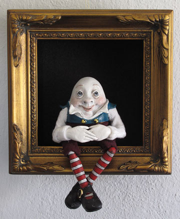 Humpty Dumpty Shadowbox