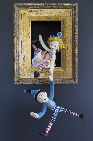 Jack And Jill Shadowbox
