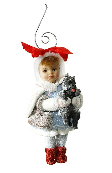 Dorothy and Toto Ornament