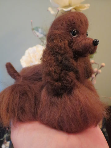Brown Cocker Spaniel With Closed Mouth by Designs By Karen