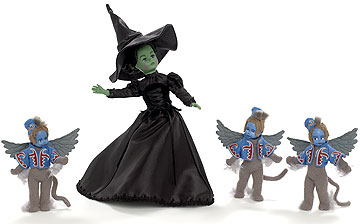 Wicked Witch Of The West With Winged Monkeys 66635