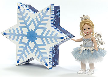 Christmas Snowflake In Star Box 66655