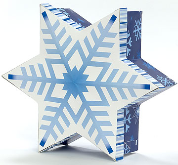 Christmas Snowflake In Star Box 66655 by Madame Alexander