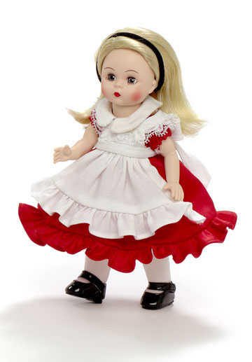 Alice In Wonderland Red Dress 66985