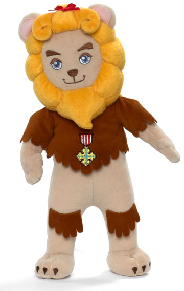 Cowardly Lion Cloth 12 inch 66805