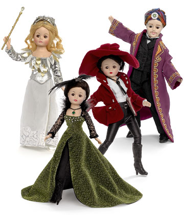 Oz The Great And Powerful Set of 4