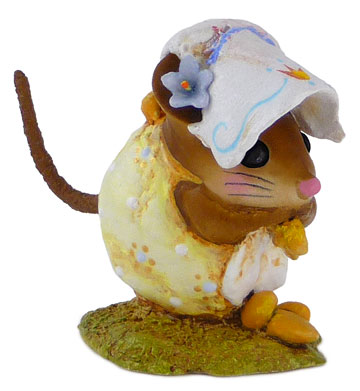Spring Nibble Mouse Yellow NM-1b