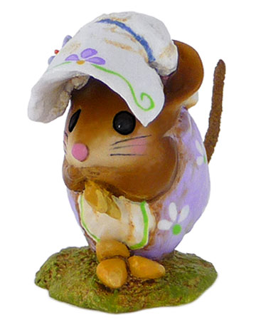 Spring Nibble Mouse Lavender NM-1b
