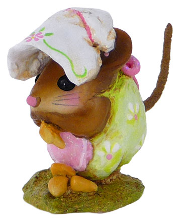 Spring Nibble Mouse Spring Green NM-1b