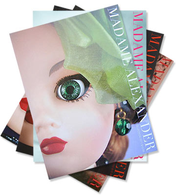 Madame Alexander Catalogs Set Of 4
