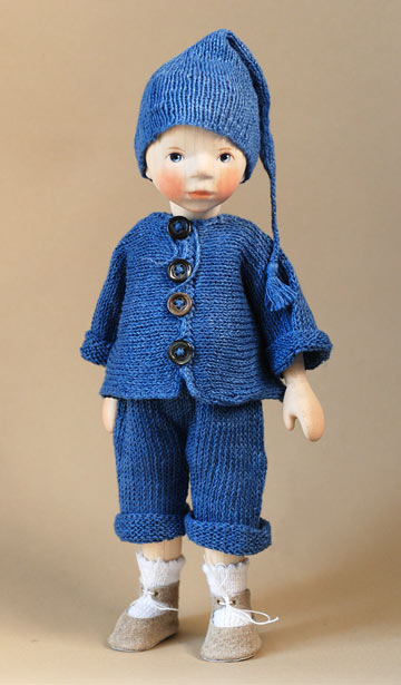 Boy In Blue Knit DJ036 July 2013
