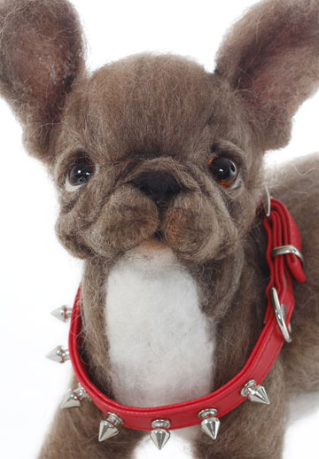 Spike French Bulldog Puppy By Mikki Klug At The Toy Shoppe