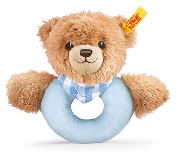 Sleep Well Bear Grip Toy, Blue EAN 239601