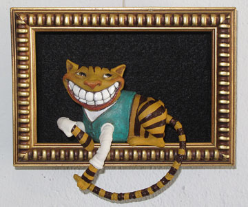 Cheshire Cat Shadowbox