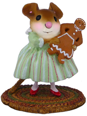 Gingerbread Girl M-499 by Wee Forest Folk