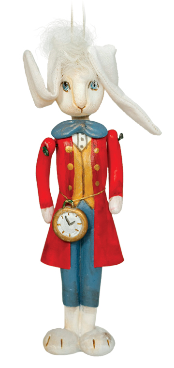I'm Late Alice's Rabbit Ornament