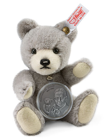 Copper-Nickel Medal Bear EAN 673795