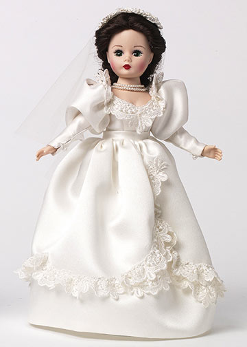 Scarlett O'Hara Wedding Dress Doll 68785