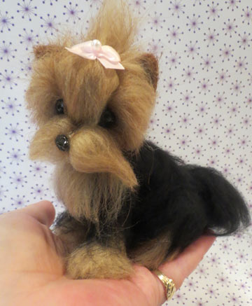Yorkshire Terrier Tan Face Short Coat