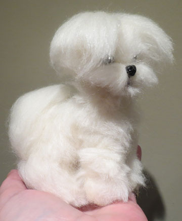 Maltese Puppy Cut by Designs By Karen