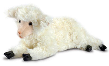 Little Lamb Lying 4287