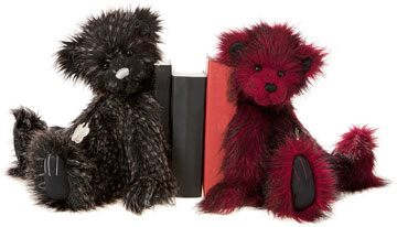 Charlie Bears Teddy Bear Bookends