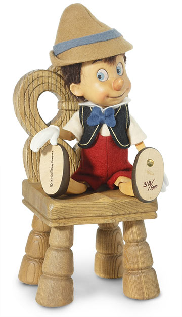 Pinocchio With Geppetto's Chair