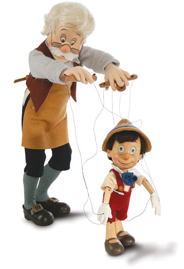 Geppetto And Pinocchio Series I Marionette