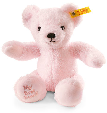 My First Steiff Teddy, Pink EAN 664717
